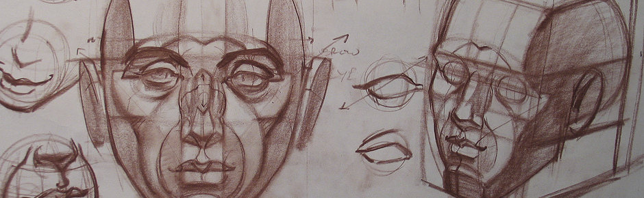Drawing the Structure of the Head
