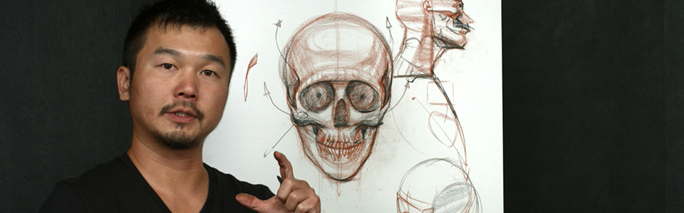 Head Drawing 1 with Charles Hu | Part 2: Structure of the Skull