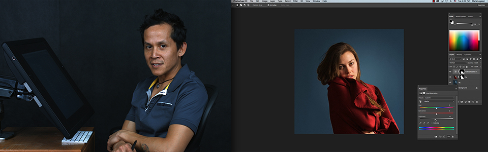 Photoshop for Traditional Artists with Chris Legaspi | Part 3: Editing Reference