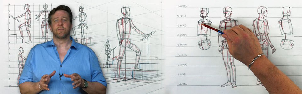 Perspective 17: Drawing the Figure in Perspective