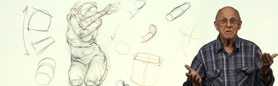 Figure Drawing with Glenn Vilppu | Part 4: Cylinder Forms