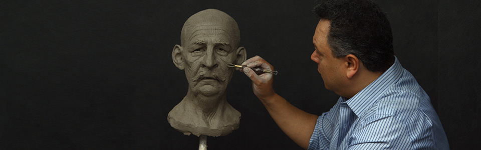 Sculpting a Head from Imagination