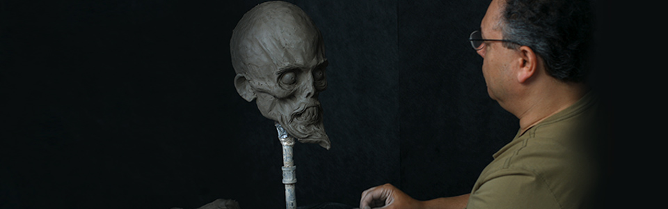 Sculpting a Monster Head from Imagination with Jordu Schell