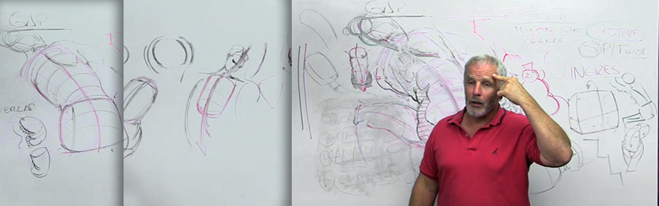 Fundamentals of Figure Drawing Workshop with Steve Huston | Part 2