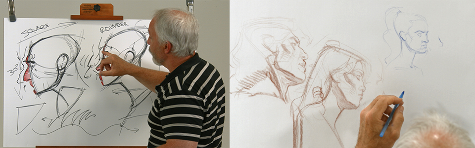 Advanced Head Drawing with Steve Huston | Part 2: Visual Differences Between Sexes
