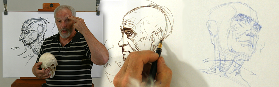 Advanced Head Drawing with Steve Huston | Part 3: The Effects of Aging