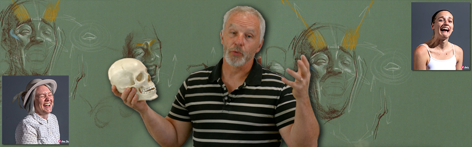 Advanced Head Drawing with Steve Huston | Part 4: Expressions